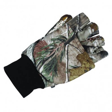 Youth Fleece Thinsulate Fingerless Glo-Mitt Whitewater, Realtree - Whitewater Mens Cover