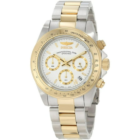 - Invicta 9212 Men's Speedway White Dial Chronograph Watch
