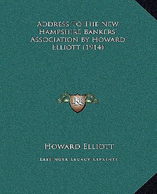 Address to the New Hampshire Bankers' Association by Howard Address to the New Hampshire Bankers' Association by Howard... by