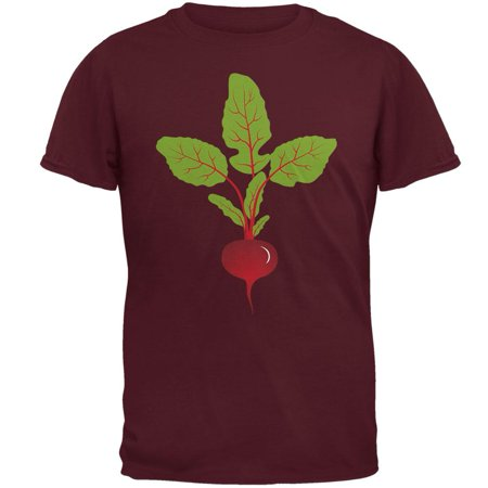 Halloween Vegetable Beet Costume Mens T Shirt - Vegetable Dip For Halloween