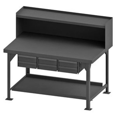 Marvelous Durham Mfg Hdwb3660Rs6Dr95 Workbench Steel 60 1 8 W 36 D Gmtry Best Dining Table And Chair Ideas Images Gmtryco