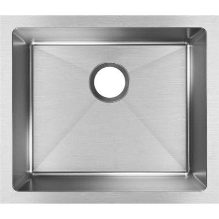 Elkay Crosstown 16 Gauge Stainless Steel, 21-1/2u0022 x 18-1/2u0022 x 10u0022 Single Bowl Undermount Sink