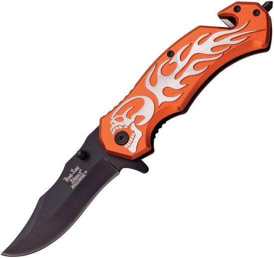 Flame Linerlock A/O Orange