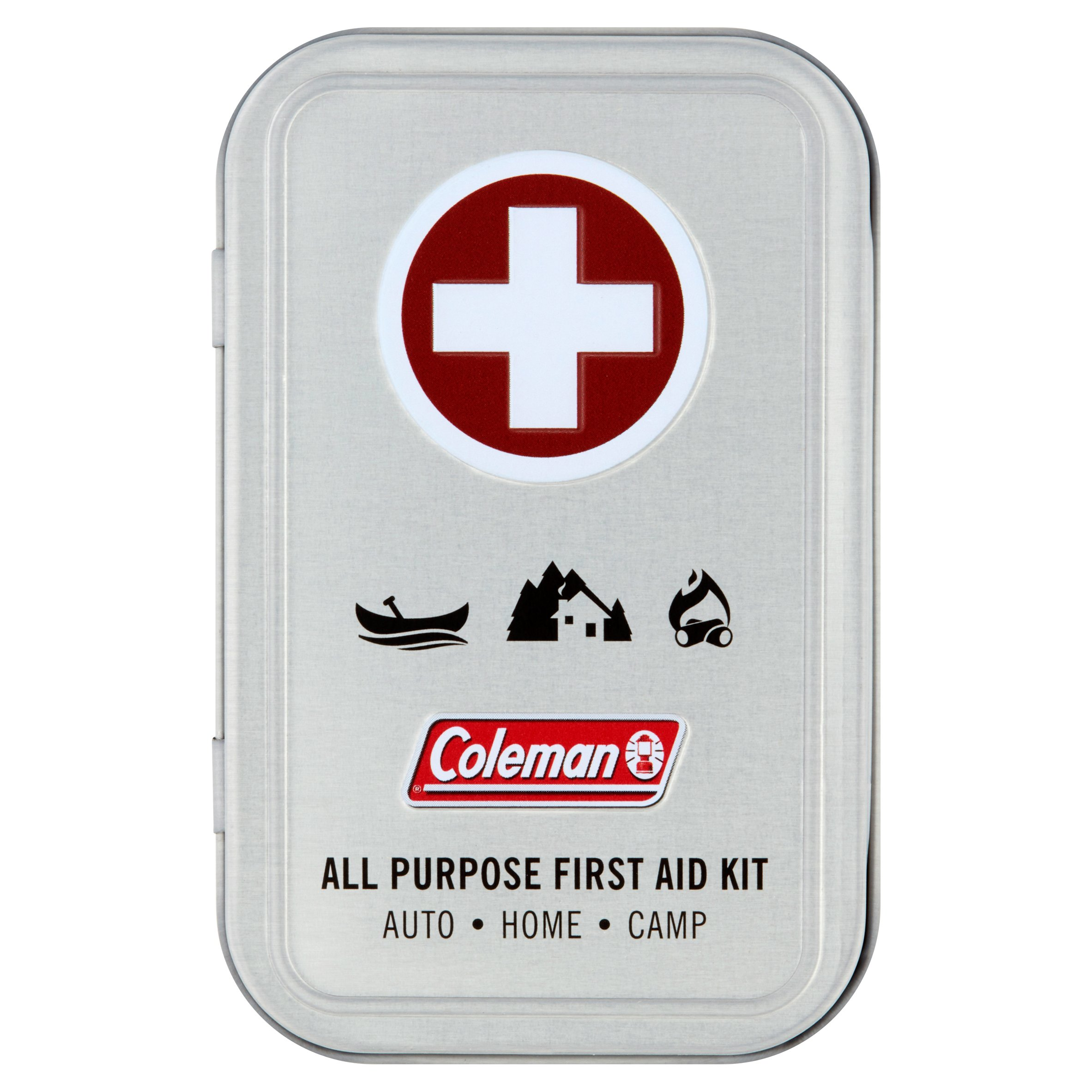 Coleman All Purpose First Aid Kit, 27 count by Wisconsin Pharmacal Company, LLC,
