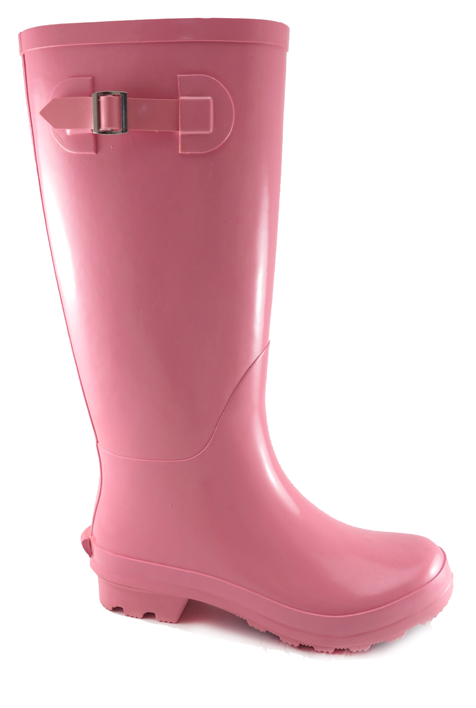 Time and Tru Women's Buckle Rain Boot
