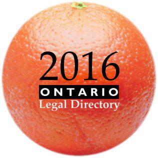 Ontario Legal Directory 2016