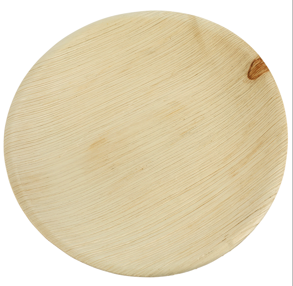 Brheez Palm Leaf Disposable Bamboo Like Round 6 inch-Natural Color - Elegant Sturdy PLATES  sc 1 st  Walmart & Brheez Palm Leaf Disposable Bamboo Like Round 6 inch-Natural Color ...