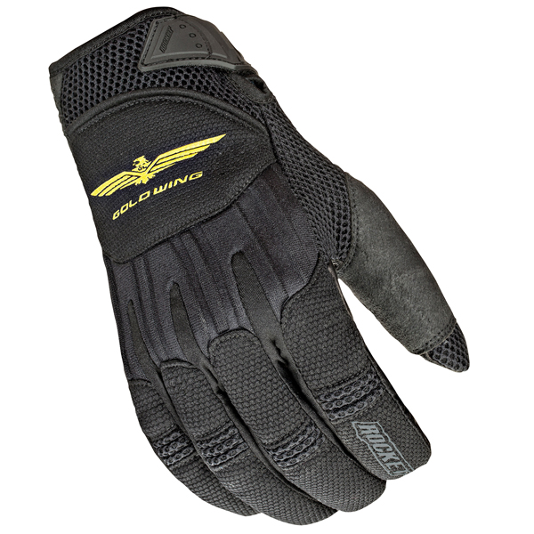 Joe Rocket Skyline Mens Black Textile Motorcycle Gloves
