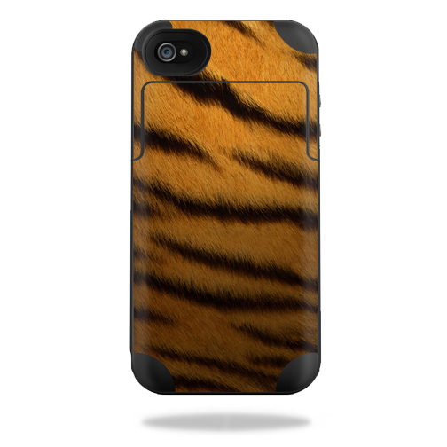 Mightyskins Protective Vinyl Skin Decal Cover for Mophie Juice Pack Plus iPhone 4 / 4S External Battery Case wrap sticker skins Tiger