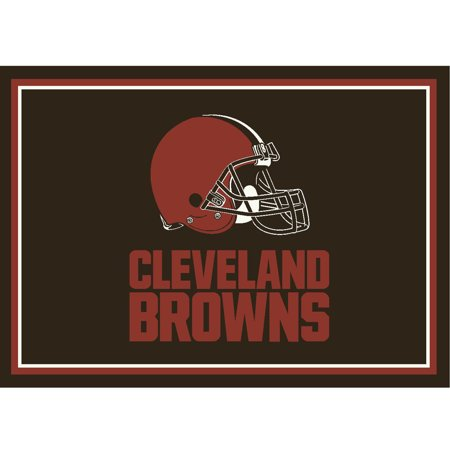 Imperial Brown Peelable Vinyl - Cleveland Browns Imperial 6' x 8' Spirit Rug - No Size