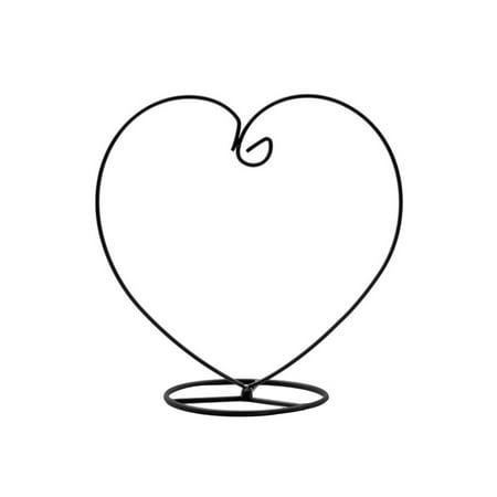 Heart Shaped Ornament Display Stand Iron Hanging Stand Rack Holder