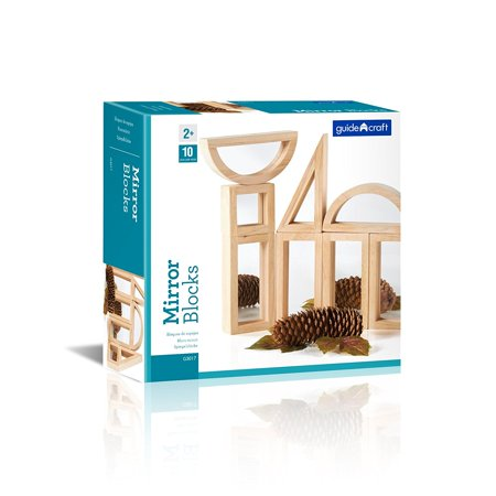 Guidecraft Mirror Blocks Set (10 Piece)