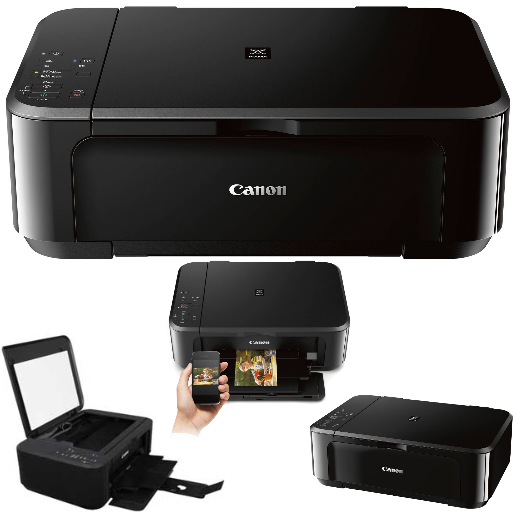 Canon Pixma Mg3620 Wireless Inkjet All In One Wireless Printer Ink
