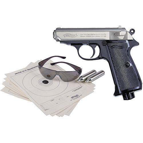 Walther PPK/S BB Pistol Kit, Bi-Color