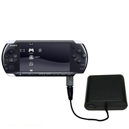 Portable Emergency Aa Battery Charger Extender Suitable For The Sony Psp 3000 With Gomadic