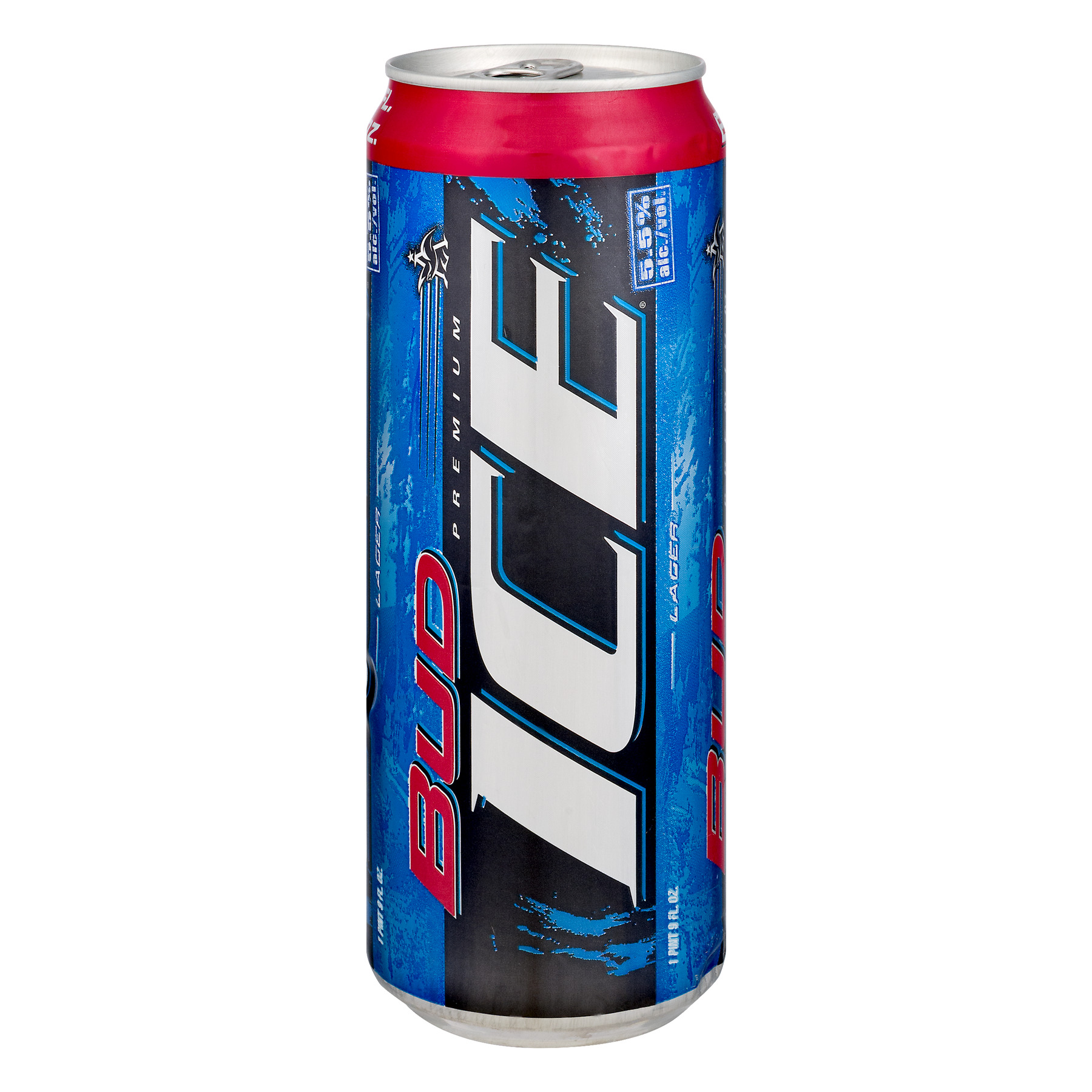 Bud Ice Lager Can, 25.0 FL OZ
