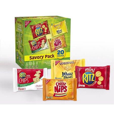 Nabisco Cracker Variety Pack, Savory, 20 Ct - Top 20 Halloween Snacks