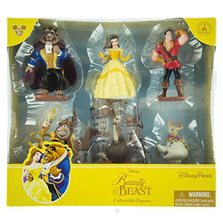 Beauty And The Beast Cake Topper Set