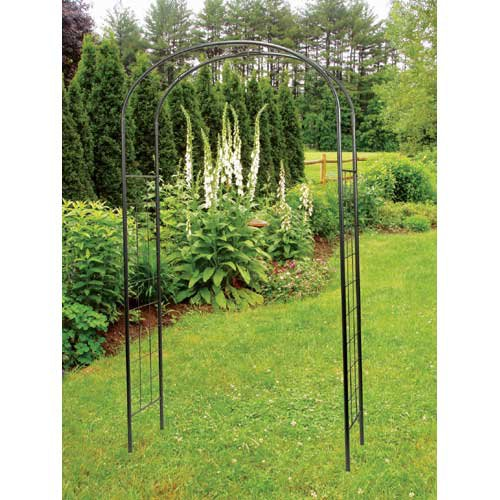 Achla Designs Monet 8.25-ft. Iron Arch Arbor