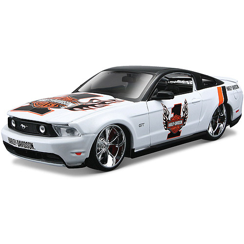 Harley Davidson Themed 1:24 2011 Ford Mustang GT by Generic
