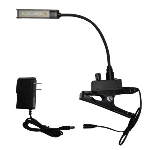 Clear Sound Corp LED Gooseneck Music Stand Inspection Reading Clip-on Light 2.5'' H by Summit Lecterns
