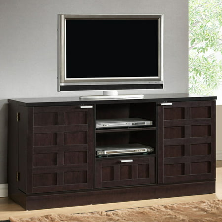 Baxton Studio Tosato Brown Modern TV Stand and Media Cabinet