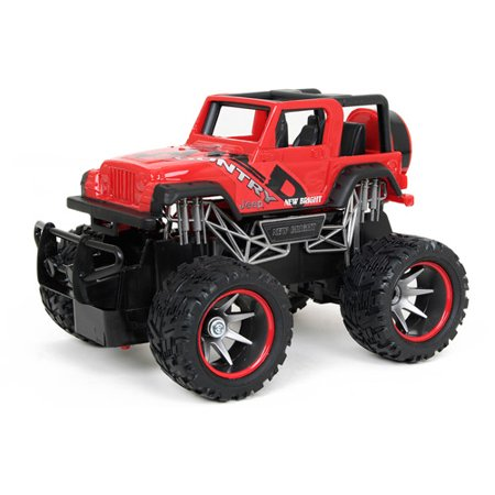 New Bright 1 24 Full Function Radio Controlled Jeep Wrangler