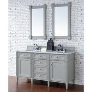 James Martin Brittany 60 in. Double Bathroom Vanity