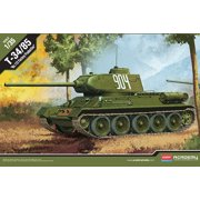 Academy 13290 WWII Soviet T34/85 '112 Factory Production' 1/35 Scale Model Kit