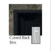 Majestic Black Trim Kit Curved Design Fits DVM500/MCUF36D/LCUF36C