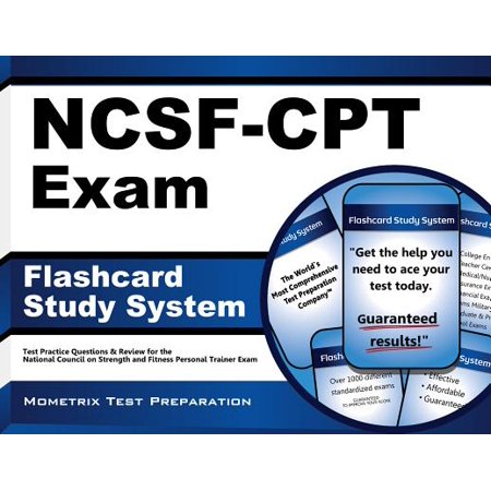 Flashcard Study System for the NCSF-CPT Exam: NCSF Test Practice Questions & Review for the National Council on Strength and Fitness Personal Trainer (Personal Trainer Study Guide & Practice Exam)