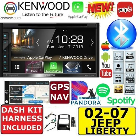 2009-14 F150 KENWOOD GPS NAVIGATION SYSTEM APPLE CARPLAY ANDROID AUTO CAR RADIO STEREO PACKAGE (Kenwood Car Stereo Gps)