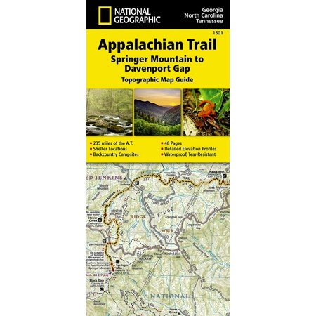 Mens Conway Mountain Trail (National geographic trails illustrated map: appalachian trail, springer mountain to davenport gap [g: 9781597756389)