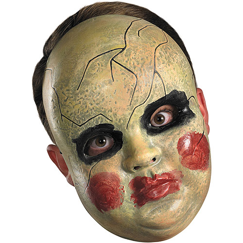 Smeary Doll Facemask Adult Halloween Accessory