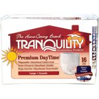 Tranquility Premium DayTime Large Disposable Absorbent Underwear, 16 count