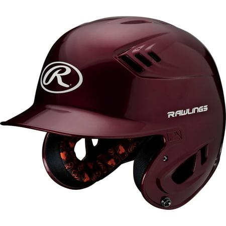 - Rawlings Junior R16 Series Metallic Helmet, Maroon
