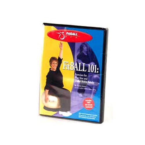 FitBALL 101 - Exercise Ball DVD for Plus Sizes and Under-Active Adults