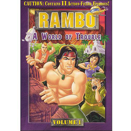 Rambo, Vol. 1: A World Of Trouble (Full Frame)