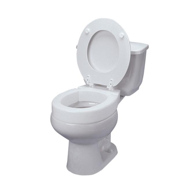 Mabis 641 2571 0005 Elongated Hinged Toilet Seat Walmart