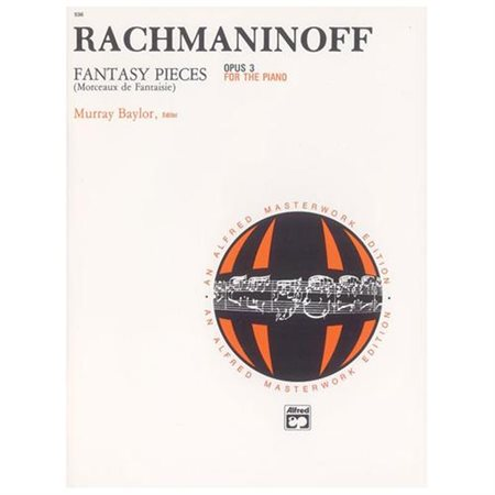 Rachmaninoff - Fantasy Pieces, Op. 3 - Piano - Early Advanced/Advanced