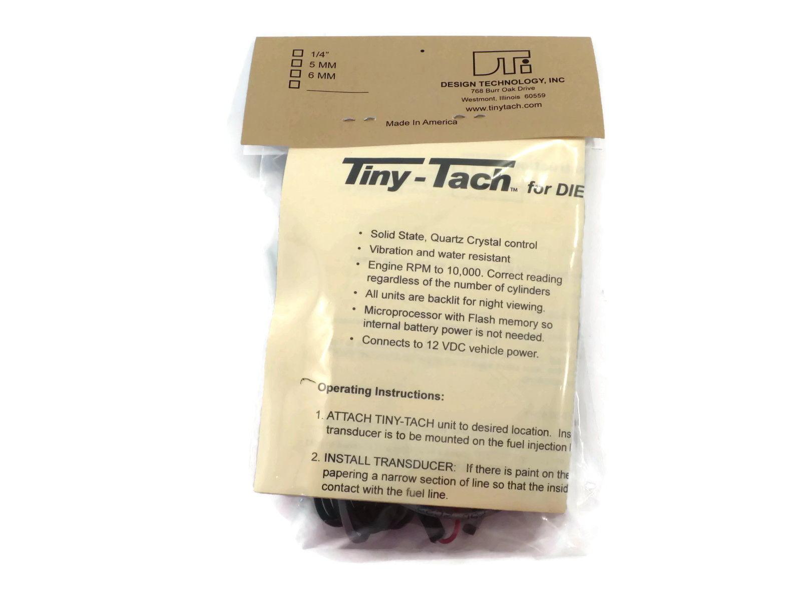 Tach instructions tiny How to