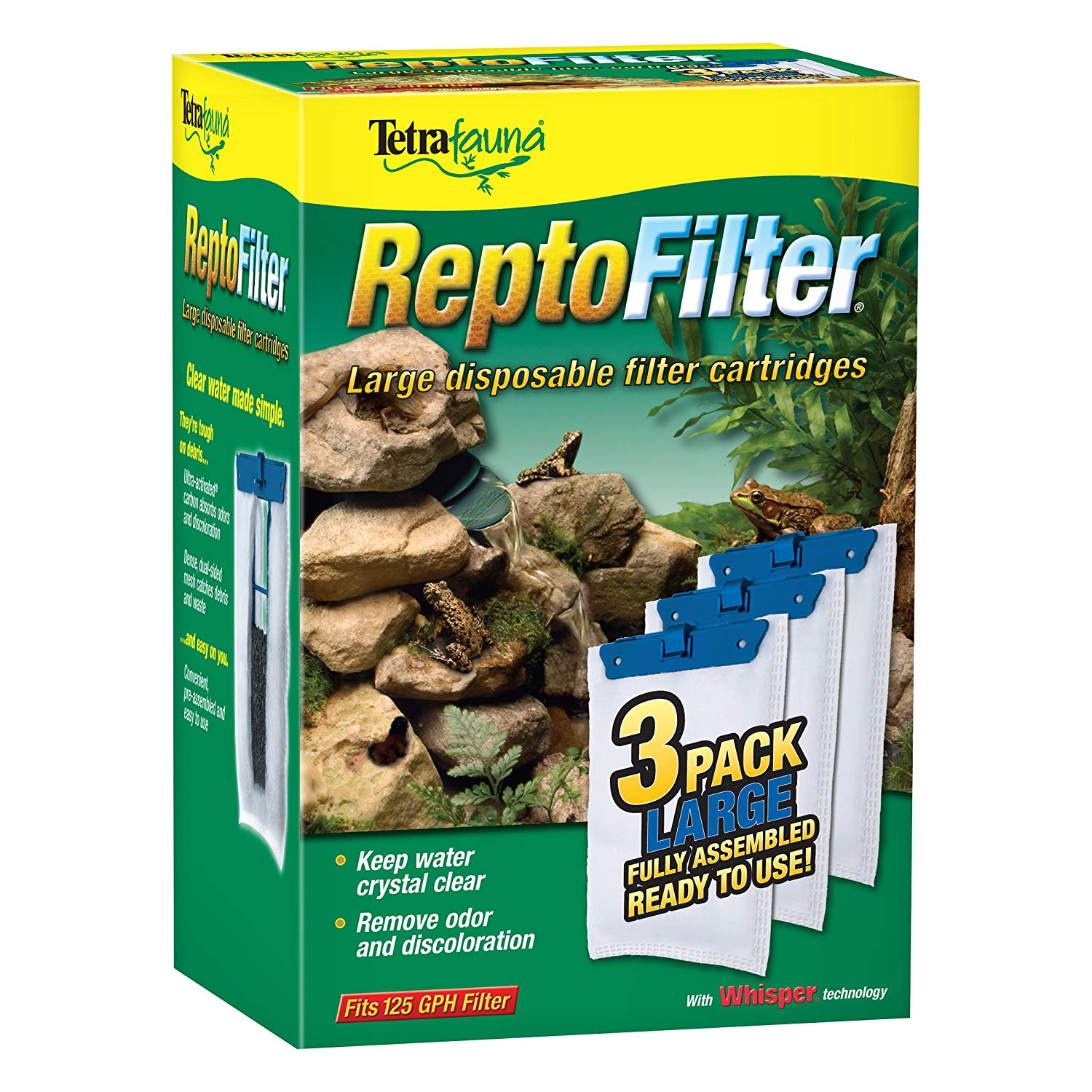 TetraFauna® ReptoFilter® Filter Cartridges 3 ct (large)