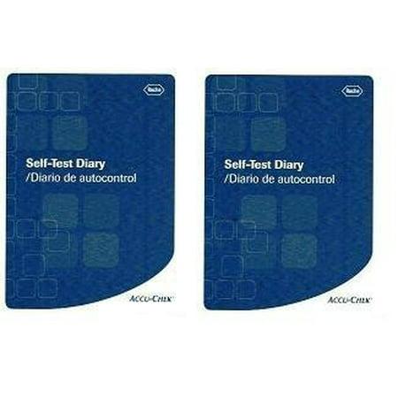 glucose log book 2 books 2 accu chek log books by accu chek ship