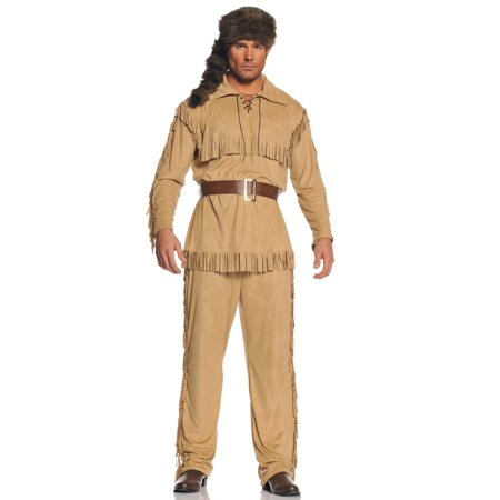 Frontier Man Adult Halloween Costume - Frontier Texas Halloween