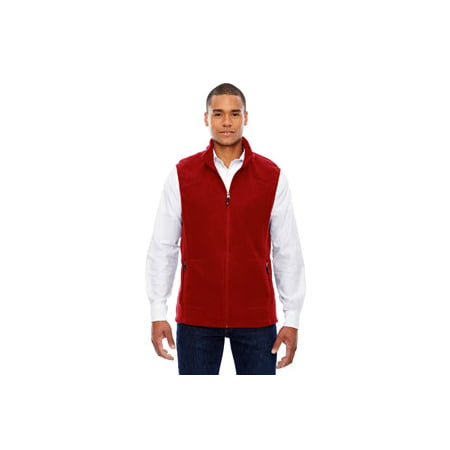 Ash City - North End Men's Voyage Fleece Vest - CLASSIC RED 850 - 5XL 88173