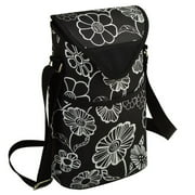 Picnic At Ascot Neo Two Bottle Tote in Black