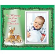 To Mommy on Our First Christmas - Picture Frame Gift