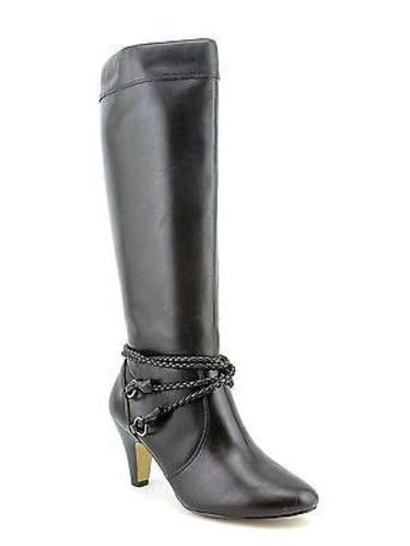 Click here to buy Bella Vita CANDICE II Womens Black Zip Up Fashion Comfort Knee High Heel Boots by Bella Vita.