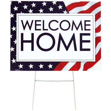 Welcome Home Yard Sign - Welcome Home Sign