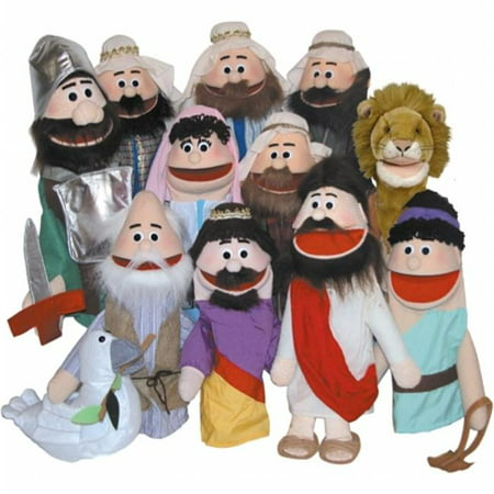 Get Ready 383 Bible Poor Man hand puppet- 18 inch - Man Eating Plant Puppet